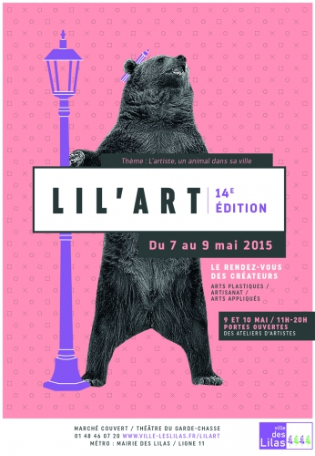 Lil'Art, exposition, yarn bombing, les Lilas