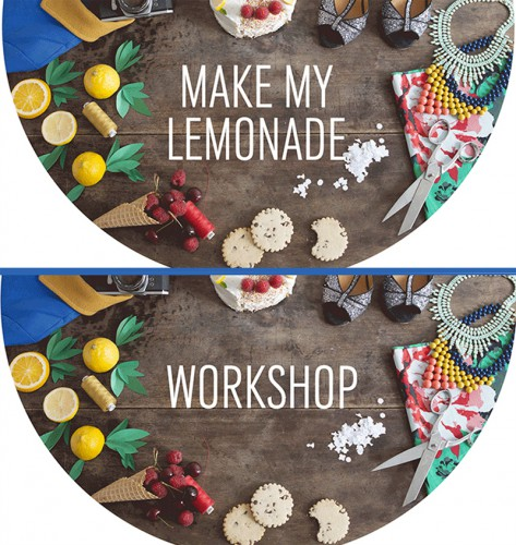 workshop, asos, make my lemonade, lisa gachet, diy