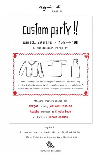 custom,party,agnèsb,diy