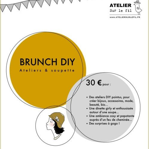 DIY, Lille, brunch