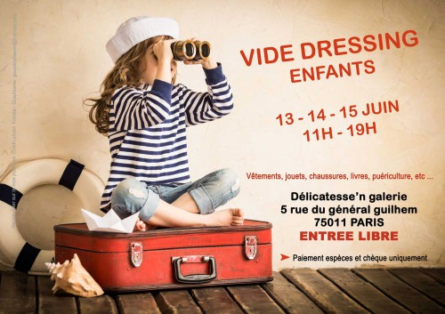 vide dressing, enfants